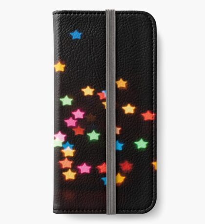 Abstract Bokeh shapes stars iPhone Wallet/Case/Skin