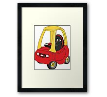 Cozy Coupe Racer Framed Print
