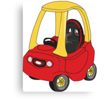 Cozy Coupe Racer Canvas Print