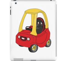 Cozy Coupe Racer iPad Case/Skin
