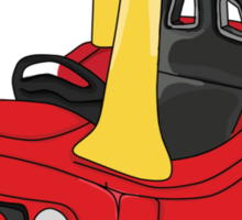 Cozy Coupe Racer Sticker