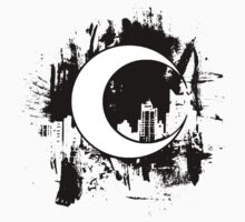 Moon Knight city-scape Black by thebigsalad