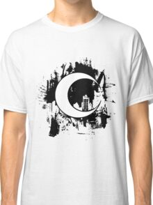Moon Knight city-scape Black Classic T-Shirt