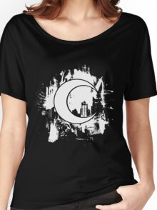 Moon Knight city-scape White Women's Relaxed Fit T-Shirt