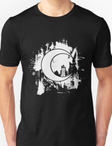 Moon Knight city-scape White Unisex T-Shirt