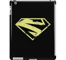 Supergirl New52 distressed pale gold iPad Case/Skin