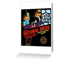 Supernatural Bros. 1 Greeting Card