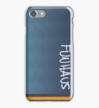 FUNHAUS - logo design  iPhone Case/Skin