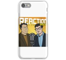 Reaction Podcast Logo iPhone Case/Skin
