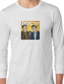 Reaction Podcast Logo Long Sleeve T-Shirt