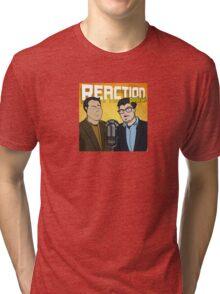 Reaction Podcast Logo Tri-blend T-Shirt
