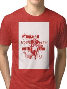 Take A Journey with the Lady Tri-blend T-Shirt