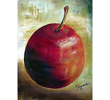 An apple a day........ Photographic Print
