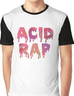 Acid Rap Text Graphic T-Shirt