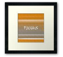 FUNHAUS - logo design 2 Framed Print