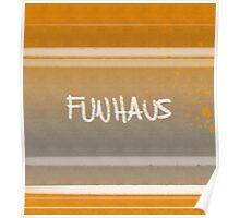 FUNHAUS - logo design 2 Poster