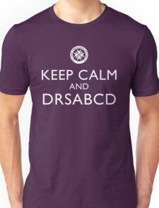 KEEP CALM and DRSABCD shirt Unisex T-Shirt