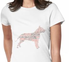 Have you met my pitbull? Womens Fitted T-Shirt