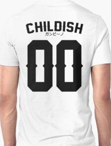 Childish Jersey v2: Black T-Shirt