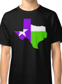 Texas Trill | Purple Green | Flagstate Classic T-Shirt