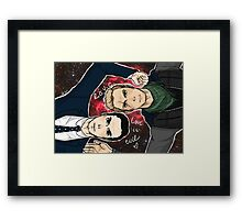 MorMor Love is EVIL Framed Print