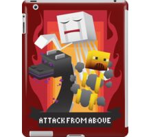 Attack from Above iPad Case/Skin