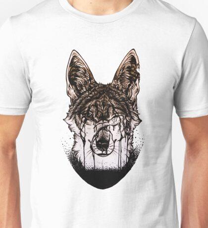 """Flood"" coyote Unisex T-Shirt"