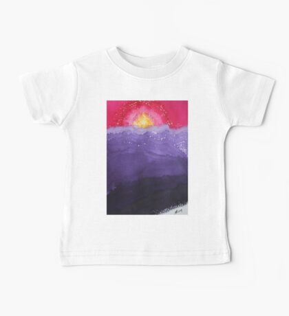 Fire on the Mountain original painting Baby Tee