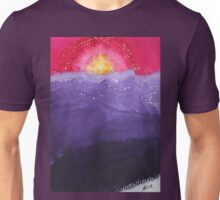 Fire on the Mountain original painting Unisex T-Shirt