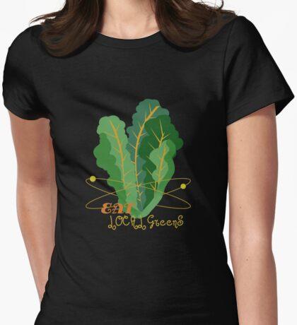 veggies Womens Fitted T-Shirt