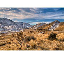 Lindis Pass, Gateway to the Mackenzie Basin Photographic Print