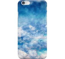 Sky Moods 6,  A View From Above iPhone Case/Skin