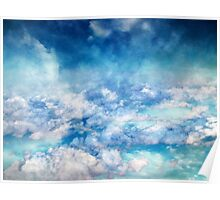 Sky Moods 6,  A View From Above Poster