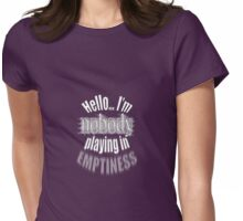 Hello I'm Playing Womens Fitted T-Shirt