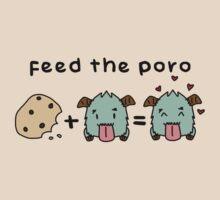 FEED THE PORO by baconpiece