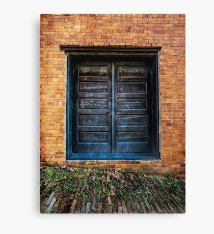 Blue Dream Door Canvas Print