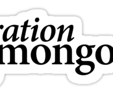 Operation Mongoose Sticker