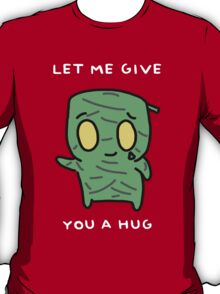 "Amumu - ""LET ME GIVE YOU A  HUG"" - WHITE TEXT/DARK SHIRTS T-Shirt"