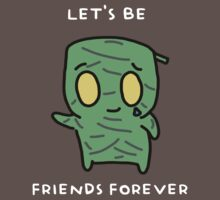"Amumu - ""LET'S BE FRIENDS FOREVER"" - WHITE TEXT/DARK SHIRTS by baconpiece"