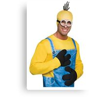 The Incredible Minion Man Canvas Print
