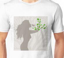 Girl a tree Unisex T-Shirt