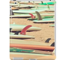 Retro Beach Surfboard iPad Case/Skin