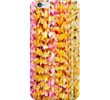 Twin Plumeria Leis bedding iPhone Case/Skin