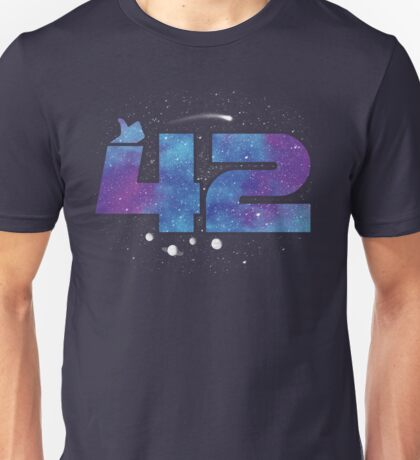THE ANSWER OF THE UNIVERSE Unisex T-Shirt
