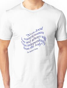 Non-Local Consciousness Unisex T-Shirt