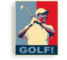 Golf! Hope Canvas Print