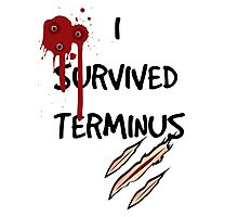 I survived terminus Photographic Print