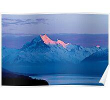 Aoraki Dawn - Sunrise at Mount Cook Poster