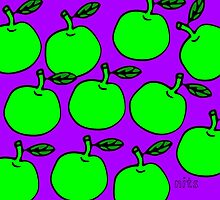 Nits For Kids - They'll Be Apples Bag by nits-for-kids
