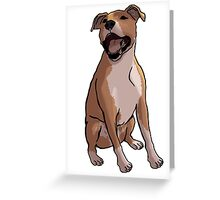 Pit Smile 1 Greeting Card